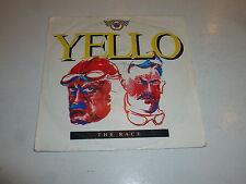 "YELLO - The Race - 1988 UK 3-track 7"" Juke Box vinyl single"