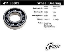Axle Shaft Bearing-Premium Bearings Centric 411.90001