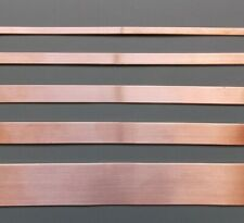 Copper Strip - Bar - 4mm - 5mm - 6mm - 8mm - 10mm - 12mm -15mm