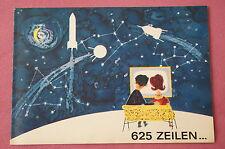 Prospectus 625 lignes..., rft télé-radio, 1964