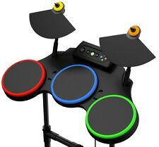 NEW Xbox 360 Guitar Hero World Tour Wired Demo Drums Drum Kit Rock Band HeroRARE