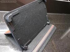 Marrón 4 Esquina agarrar Multi ángulo case/stand Para Amazon Kindle Fire Hd Tablet Pc