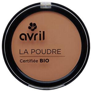 Poudre compacte Cuivre Certifiee Bio Vegan Naturel Cosmetique Ecologique AVRIL