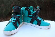 ANDROID HOMME PROPULSION HIGH TOP SNEAKER SZ 11.5 Teal