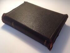 Holy Bible King James Version, 1904 Teachers Edition, Plates, Rev. Wright