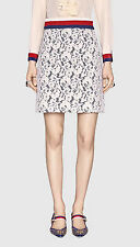 NWT Gucci Jersey and Lace skirt, size M