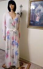 MALIZIA by LA PERLA IV V NWT Neiman Marcus Seta-Silk Peignoir Set L large