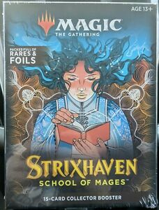Magic the Gathering : Strixhaven : 15-Card Collector Booster Box : SEALED
