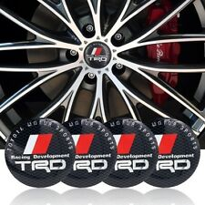 4 pcs moyeu 56,5 mm TRD Racing Toyota Camry Corolla Yaris