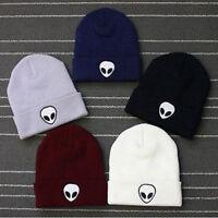Alien Beanie Warm Knitted Hat Autumn Winter Cap For Men Women