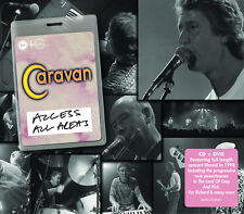 Access All Areas 5014797891555 by Caravan CD With DVD