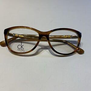 Calvin Klein Ck5814 Eyeglass Frames 240 Tortoise 53-15 140 Demo Clear Lenses