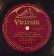 Dame Nellie Melba on 78 rpm Victor 6213: Traviata/Rigoletto E-