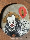 Hand Painted Rocks, PENNYWISE. Halloween, Stephen King, IT