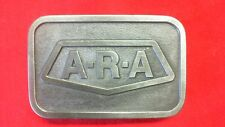 A R A Hit line USA  Vintage Belt Buckle  TU1