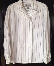 EMANUEL by Emanuel Ungaro Long Sleeve Shirt Size 12/46 100% Cotton