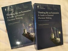 The Great Courses Thinking Economic Transcript Course Book DVD Randall Bartlett