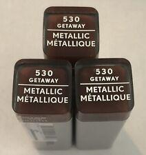 (3) Covergirl Exhibitionist Metallic Lipstick, 530 Getaway