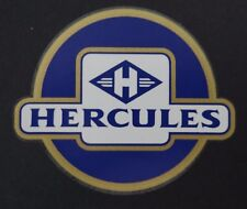 Aufkleber Tank Rahmen Fahrrad Moped HERCULES altes Logo 70er Jahre bsb Sticker