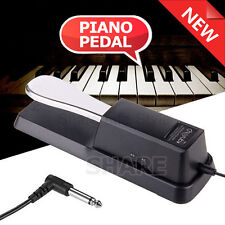 Piano Sustain Pedal Damper Foot Switch for Electric Keyboard Yamaha Casio Roland