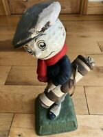 We Played a Dunlop Advertising Figure Golf Antique / Advertising 1930's