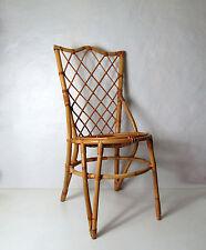 ancienne chaise en rotin adulte Vintage design scandinave
