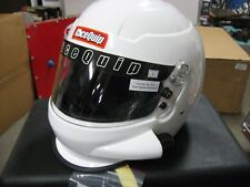 RACEQUIP PRODUCT 293113 PRO15 SIDE AIR HELMET (WHITE) SA2015 APPROVED(MEDIUM)
