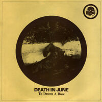 "Death In June – To Drown A Rose Vinyl Disk 10"" Like new Sold and Ship from USA!"