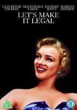 LET'S MAKE IT LEGAL MARILYN MONROE CLAUDETTE COLBERT FOX UK 2012 DVD NEW SEALED