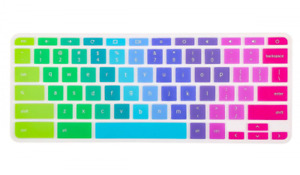Colorful Keyboard Cover for Acer Chromebook R 11 CB5-132T CB3-131, R 13 CB5-...