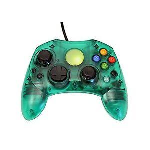 Replacement Controller For Xbox Original Green Transparent Xbox Original