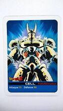 Carte LAMINCARDS Dragon ball Z Cell 143