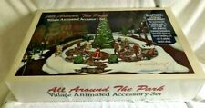 DEPARTMENT. 56 ALL AROUND THE PARK VILLAGE ANIMATED ACCESSORY SET, EXCELLENT
