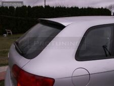 S3 STYLE TAILGATE WING FOR AUDI A3 8P Sportback 5 Door REAR ROOF TRIM SPOILER