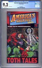 America's Greatest Comics #16 - CGC Graded 9.2 (NM-) 2006 - Alex Toth Tribute