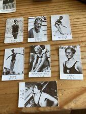 1936 ALFA Olympic-series 1936 Sweden  - 7 Swimming Cards USA Wayne Degener