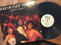Unlimited Touch: Yes We're Ready LP PRELUDE Promo PRL-14108 RARE Soul/Funk EX/NM