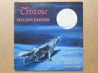 """Mylene Farmer Tristana - DJ Remix Maxi 45t 12"""" inch"""