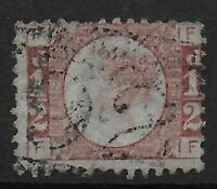 SG48.  1/2d.Rose-Red Plate 12.  FU. Cat.£24.  Ref 0523