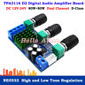 TPA3116 D2 80W*2 DC 12V~24V Dual-Channel Digital Audio Power Amplifier AMP Board
