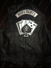 Aces & Eights Leather Cut TNA Impact Wrestling