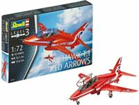 REVELL 04921 64921 RAF BAe HAWK T1 Red Arrows plastic model assembly kit 1:72nd