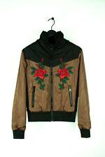 Original Dolce&Gabbana Herren Licht Jacke Multi Blumen Größen 48IT (M)