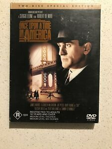 ONCE UPON A TIME IN AMERICA - 2 DISC SPECIAL EDITION - DVD  - LIKE NEW - RATED R