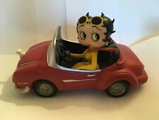 Betty Boop in Red Sports Car Figurine, Ex Display (Professionally Restored)