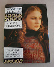 Alice Starmore The Celtic Collection 25 Knitwear Designs Men Women HC/DJ 1st Ed.