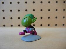 Bandai DC Teen Titans Go! BEAST BOY Smiling in Run Comic Book Heroes Mini Figure
