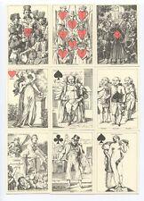 Arienti Facsimile Cartes Récréatives 1819 Transformation playing Cards 555/800