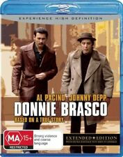 Donnie Brasco (Blu-ray, 2009) Excellent Condition. Extended Edition. High Def