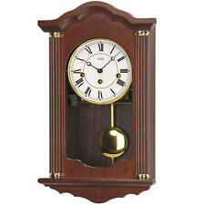 AMD Regulator Clock with Pendulum Mechanical Walnut 4/4 Westminster Striking NEW